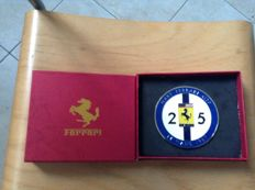 Ferrari Grill Badge - Ferrari 412 p Le mans 1967 with box