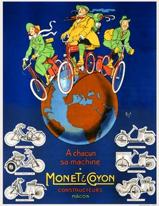Mich - Monet & Coyon cycles - 1918