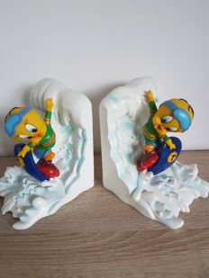 Warner Bros - Extremely rare bookends of Tweety - 1990's