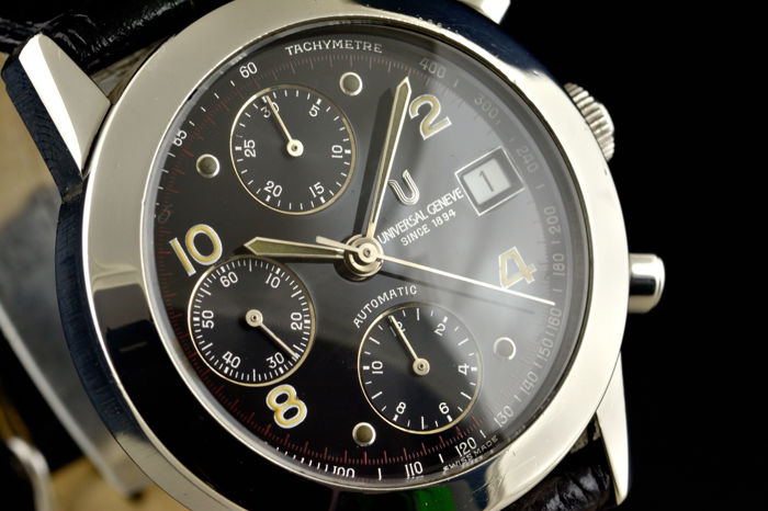 Universal Genand�ve - Compax Automatic Chronograph - 898.290 - Heren