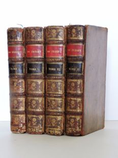 Charles Rivière du Fresny - Œuvres 4 volumes - 1747