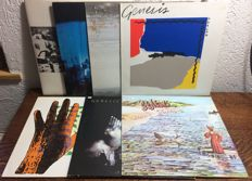 Genesis - Lot with 7 LP's in at least VG+ condition