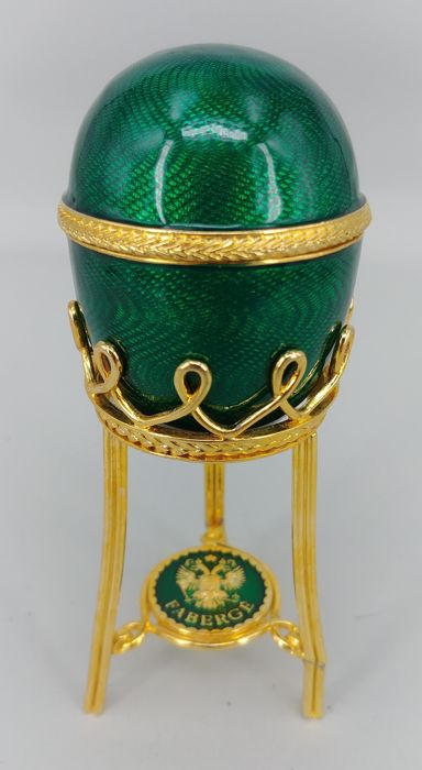 Fabergé Emerald Green Egg