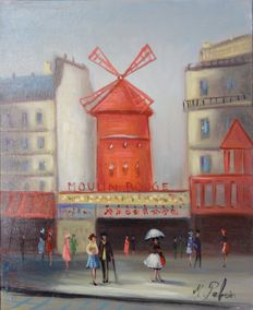 Michel Pabois - Le Moulin Rouge