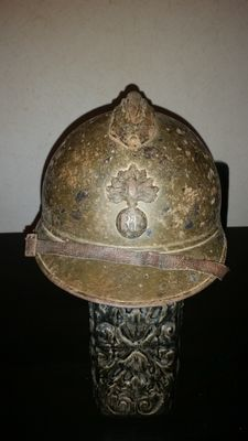 Adrian Helmet colonial infantry, full