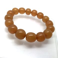 Vintage bracelet of Baltic Amber beads 21 grams, Baltic region; no reserve