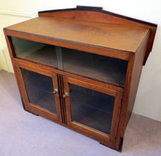 Amsterdam School - display cabinet