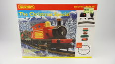 Hornby H0 - R1046 - Christmas Special, Christmas train with 3 wagons complete with track and transformer