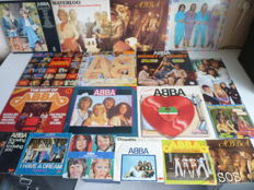 Very complete ABBA lot: 10 albums and 9 singles. all the hits are present in this lot