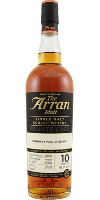 Arran Mother's Finest Cask no. 1 - 10 years old