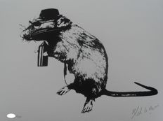Blek Le Rat - The Street Artist`s Paraphernalia