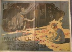 Hohenstein - original poster for Madame Butterfly - G. Ricordi, Milan