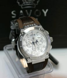 Savoy Metropolitan quartz chronograph SWISS MADE 2016 new and never worn