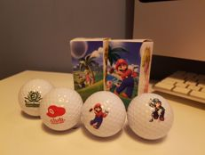 Club Nintendo collectors item - All-star golfballs