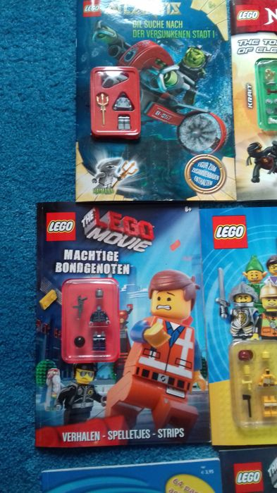 16 lego magazines - including city - ninjago - chima - catawiki