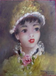 Suzanne Eisendieck (1906-1998) - Portrait of a young lady