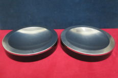 Pair of aluminium and Bakelite pocket emptiers - FORMANOVA design - 70s