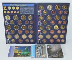 Europe - Probe sets 2003-2005 from various countries (10 pieces).
