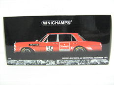 Minichamps - Scale 1/18 - Mercedes-Benz 300 SEL 6.8 Hockenheim 1971