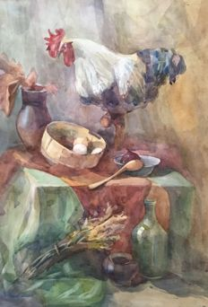 Matviienko Veronika (1994) - Autumn Still life