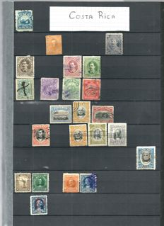 South America - Collection with stamps from South and Central America in 4 stock books