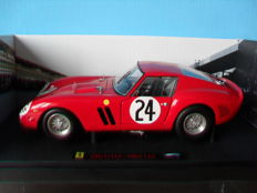 Hot Wheels Elite - Scale 1/18 - Ferrari 250 GTO #24 1963 Le Mans