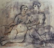 Pablo Picasso (after) - The Lovers Nude