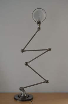 Jean Louis Domecq for Jieldé - floor lamp with 5 arms.