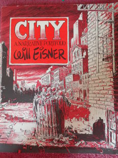 Will Eisner - City: A Narrative Portfolio - Hollybrook Graphics - Numbered And Signed - Limited Edition - (1980)