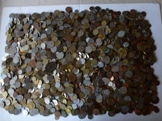 World - Batch of various coins (11.5 kg)