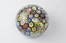 "A.VE.M.  (Murano) - Rare Paperweight with ""Murrine"""