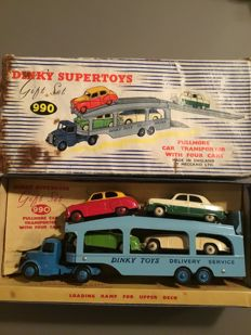 Dinky Supertoys - Scale 1/43 - Pullmore Car Transporter with 4 Cars Giftset 990