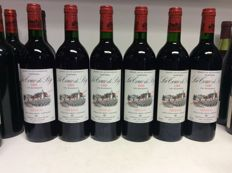 1995 Chateau La Tour de By Cru Bourgeois, Medoc, France , 6 bottles 0,75l