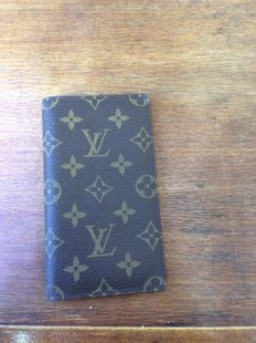 Louis Vuitton - Carteira Mini agenda de Lona Monogramado