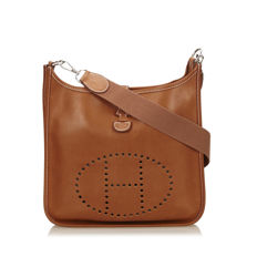 Hermes - Leather Evelyne PM Shoulder bag