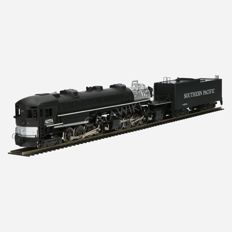 Rivarossi H0 - 1248 - Steam locomotive with tender 4-8-8-2 Cab Forward