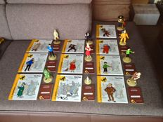 Hergé - 10x beeldje Moulinsart - Tintin La collection officielle - Figurines Tintin (2011-2016)