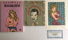Baldazzini, Roberto  - 2 books and 1 limited print - all signed - 1 x sc and 1 x hc - (1991/2001)