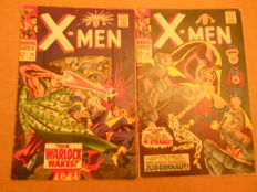 Marvel Comics - X-Men #30 & 33 - x2 SC - (1967)