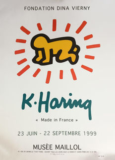 Keith Haring - Exposition Musée Maillol - 1999
