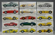 Ferrari - Scale 1/43 - Lot with 14 models: 14 x Ferrari Ecurie Francorchamps  Limited Edition 500 pieces