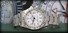 Rolex - Explorer II Ref 16570 Top Condition Full Set S.E.L - Heren - 2000-2010