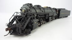 Precision Craft Models H0 - 019 - Steam locomotive with tender Series Y6b 2-8-8-2 of the Norfolk & Western Railroads