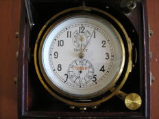 A Poljot Soviet Navy ship's 56 hour marine chronometer