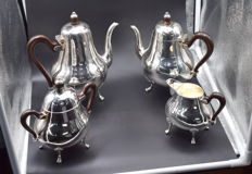 Sterling silver tea set , International hallmarked 925