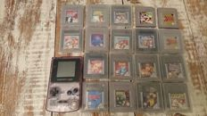 Nintendo gameboy color with 18 games