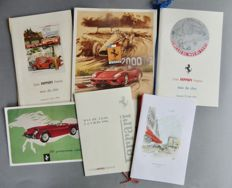 Lot of six documents of the France Ferrari Club - from 1990 to 2000