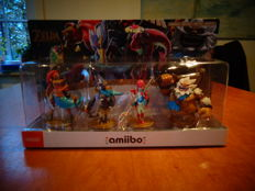 "Zelda Breath of the Wild Amiibo ""Four Champions Pack"" with Daruk, Urbosa, Revali and Mipha"