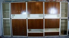 Musterring - large modular vintage extension cupboard (430 cm)
