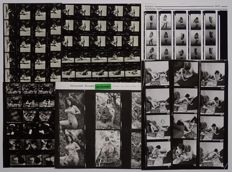 Contact sheet; Lot with 4 Contact sheets from various photographers - 1960s